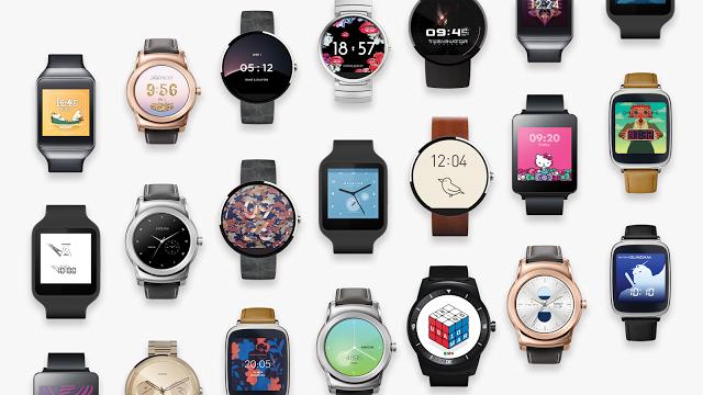 Google presenta i 17 watch selezionati per Android Wear