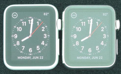 display in zaffiro di Apple Watch