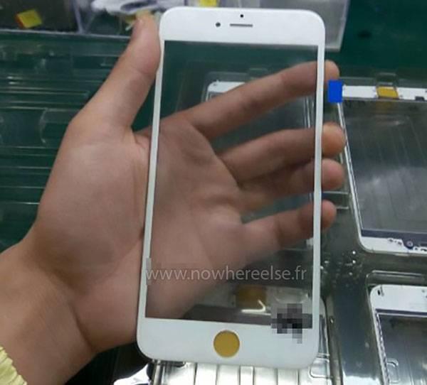 iPhone 6S: ecco le prime immagini del pannello frontale