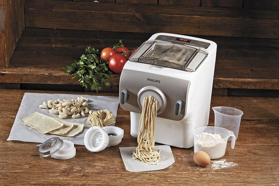 Pasta maker philips pasta fresca pronta in 10 minuti - Impastatrice per pasta fatta in casa ...