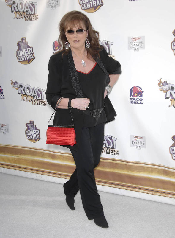 Jackie Collins at a Comedy Central Roast.