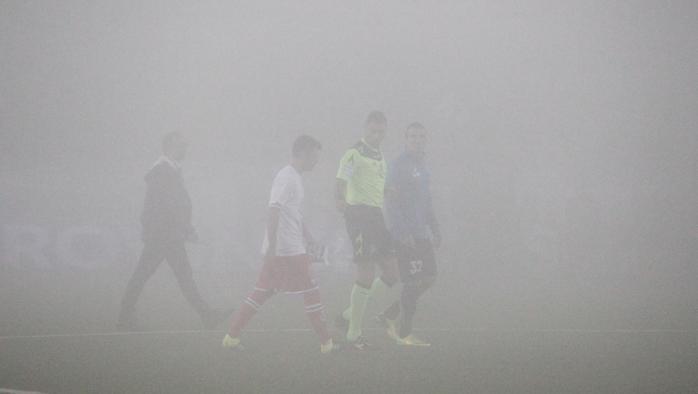 Novara-Pescara rinviata per nebbia