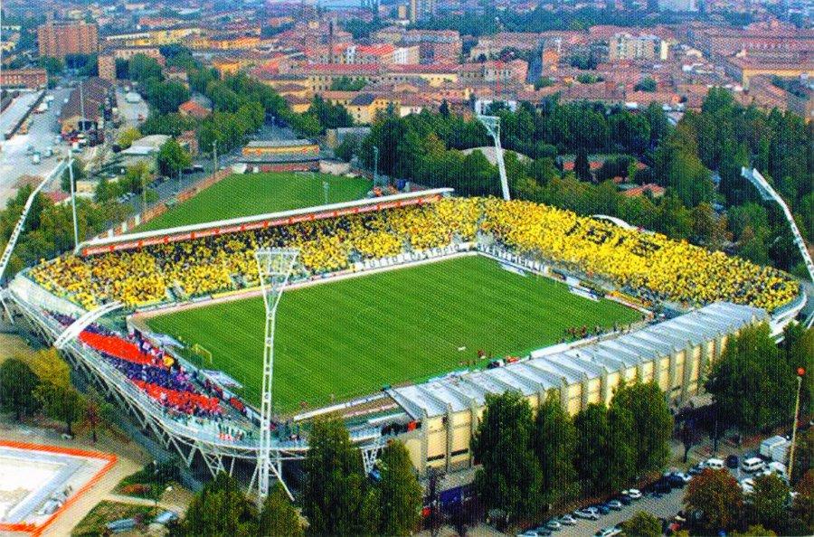 Lo stadio Braglia di Modena, casa del Carpi in Serie A.