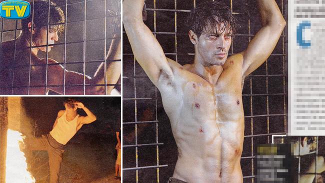 Gabriel Garko nudo Onore e Rispetto 5