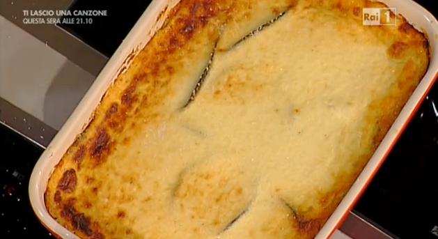 Anna Moroni La Prova del Cuoco. Moussaka rivisitata