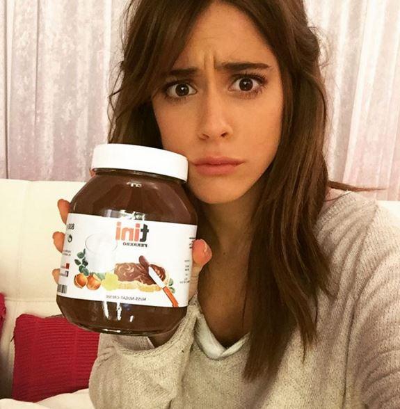 Martina Stoessel anoressica smentisce con Nutella