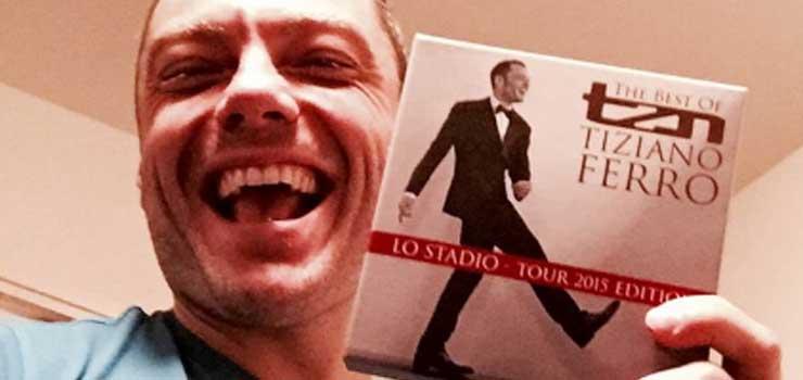 Tiziano Ferro e il suo TZN The Best of