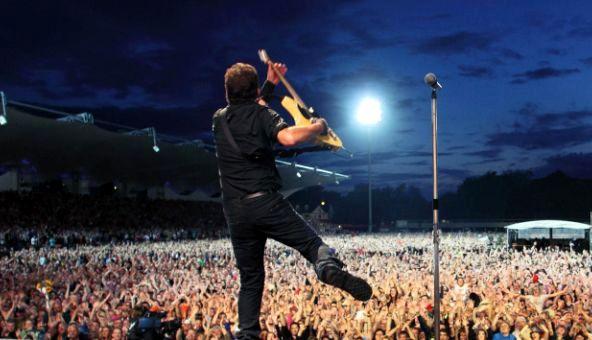 Concerti Bruce Springsteen, online bootleg ufficiale del Boss live a Roma luglio 2013. Setlist e info.