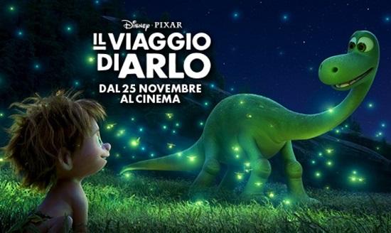 Il viaggio di Arlo arriva nelle sale cinematografiche il nuovo cartone Disney Pixar