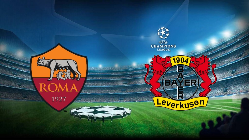 Roma-Bayer Leverkusen, Champions League.