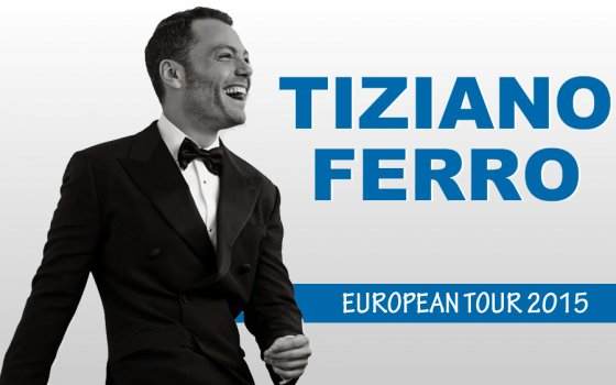 Tiziano Ferro: concerto Bari 26 novembre 2015, scaletta e info live