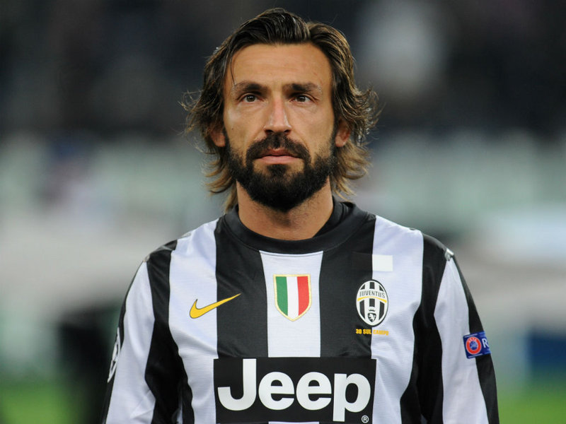 Andrea Pirlo, obiettivo di mercato dell'Inter.