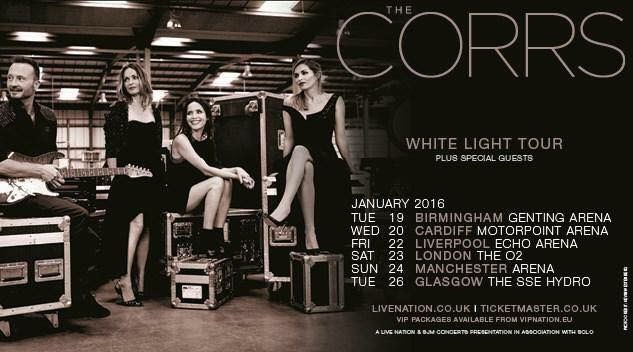 Nuovo album e nuovo tour per i The Corrs
