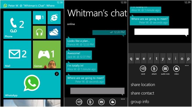 whatsapp window