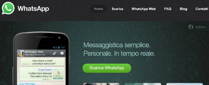 Whatsapp down 31 Dicembre 2015, servizio ripristinato
