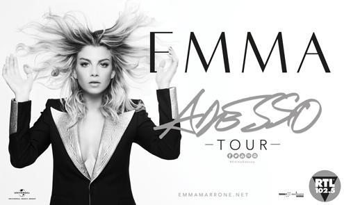 Emma Marrone, a sorpresa, aggiunge sei nuove tappe per l'Adesso Tour