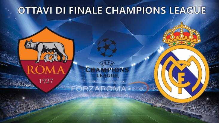 Info live streaming Roma Real Madrid, diretta andata ottavi Champions 2016