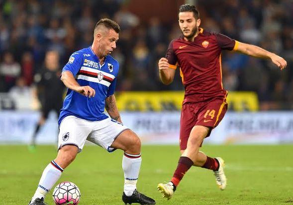 Roma-Sampdoria streaming live Rojadirecta partita di Serie A orario diretta tv sky, probabili formazioni
