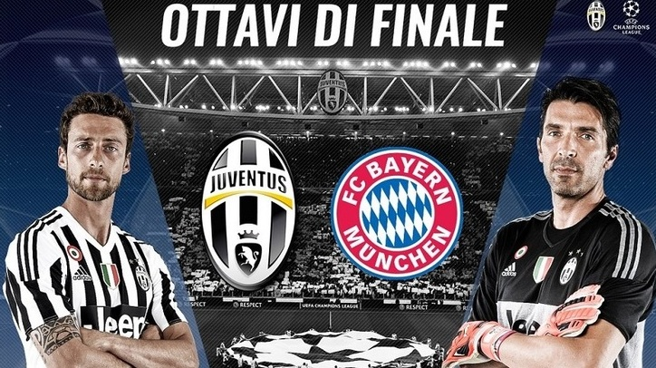 Juve Champions Calendario.Diretta Tv Champions League 2016 Calendario Ottavi Di Finale