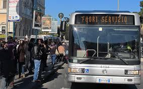 rischio sciopero mezzi pubblici oggi 4 febbraio 2016 a Roma