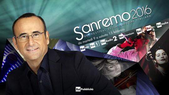 Programmi Tv stasera 9 Febbraio 2016, info Rai, Mediaset La7: prima tv Sanremo su Rai1, film Buona Giornata su Canale 5