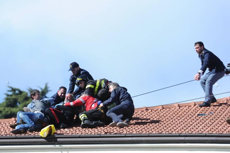 Tentato suicidio a Sanremo 2016: uomo minaccia di lanciarsi dal tetto