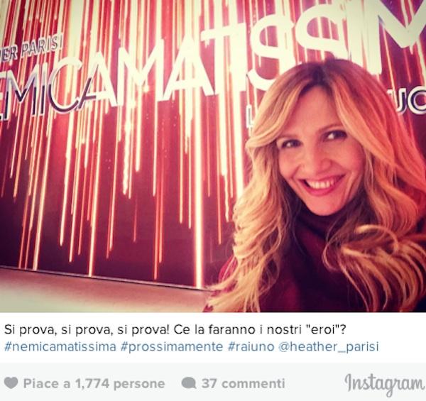 NemicAmatissima: la coppia Cuccarini-Parisi su Rai 1