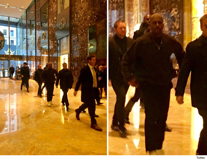 Kanye West fa visita a Donald Trump. Il presidente eletto: