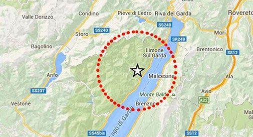 Scossa di terremoto sul lago di Garda: magnitudo 3,4 foto