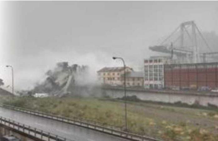 ponte A10 Genova
