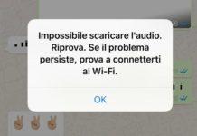 Whatsapp problemi